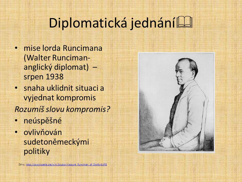 Diplomatická jednání
