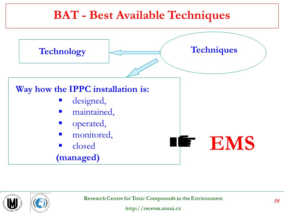 BAT - Best Available Techniques
