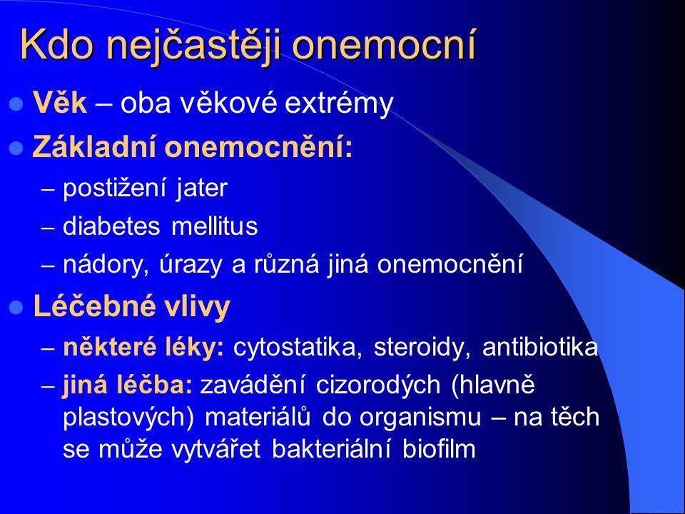 Kdo nejčastěji onemocní