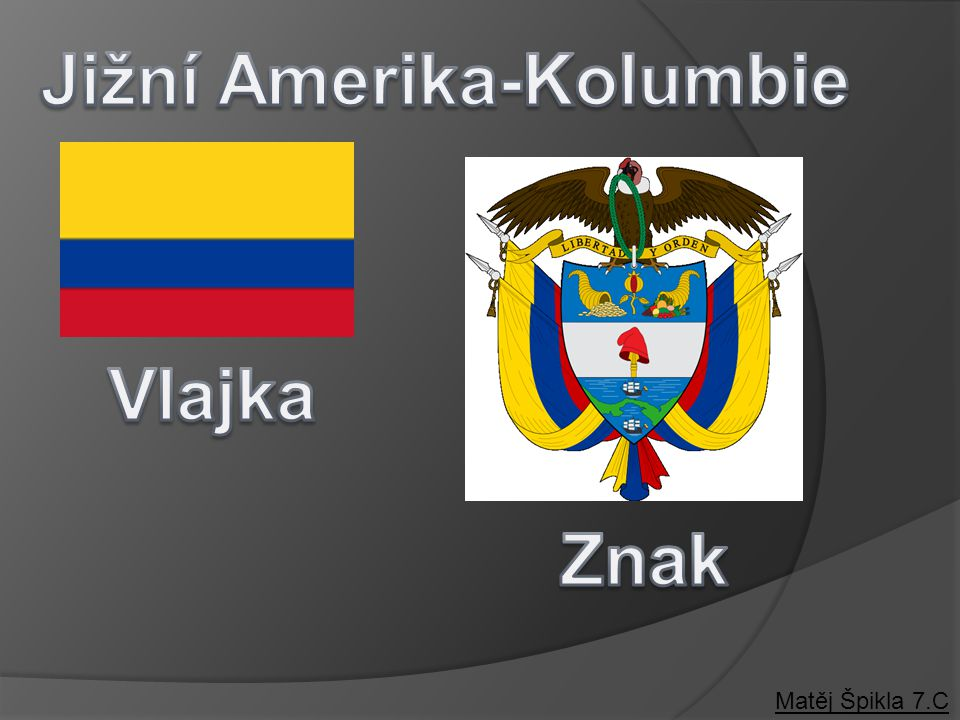 Jižní Amerika-Kolumbie