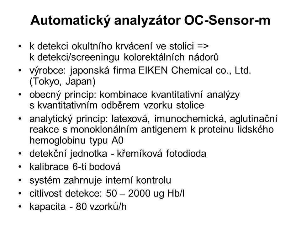Automatický analyzátor OC-Sensor-m