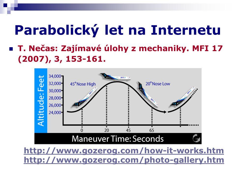 Parabolický let na Internetu