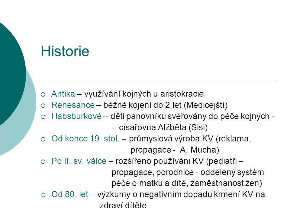 Historie Antika – využívání kojných u aristokracie