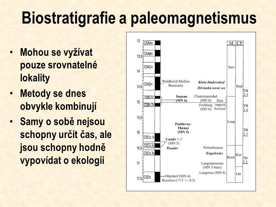 Biostratigrafie a paleomagnetismus