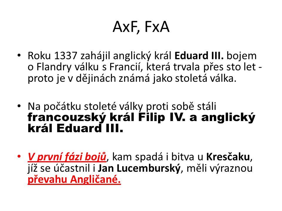 AxF, FxA