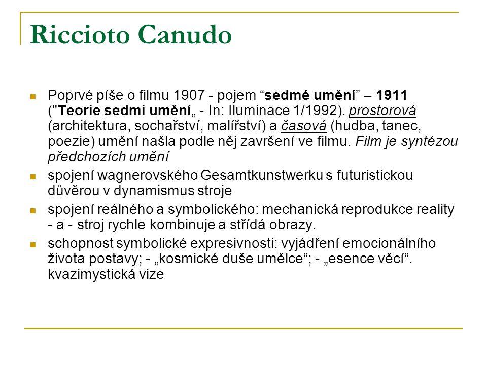 Riccioto Canudo