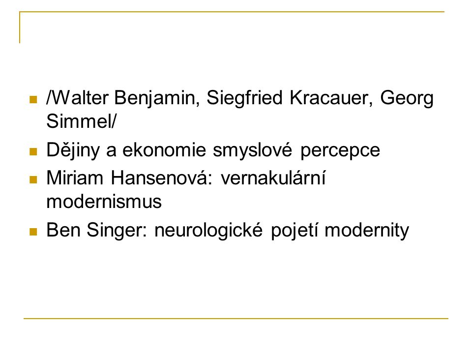 /Walter Benjamin, Siegfried Kracauer, Georg Simmel/