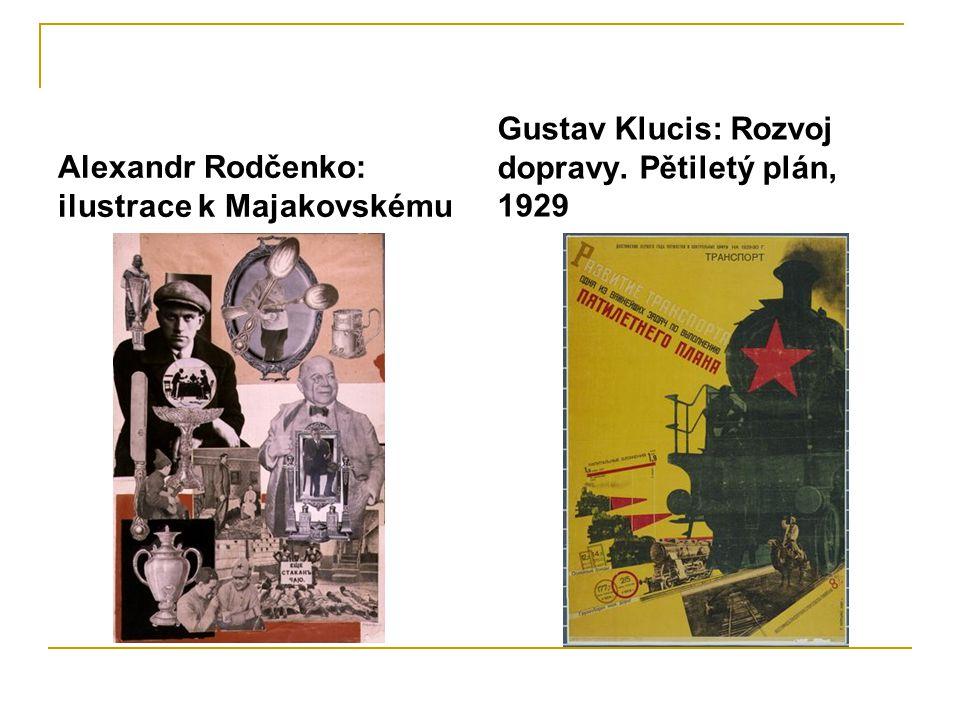 Alexandr Rodčenko: ilustrace k Majakovskému