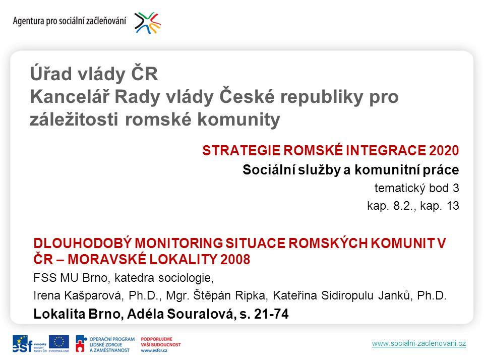 Úřad vlády ČR Kancelář Rady vlády České republiky pro záležitosti romské komunity