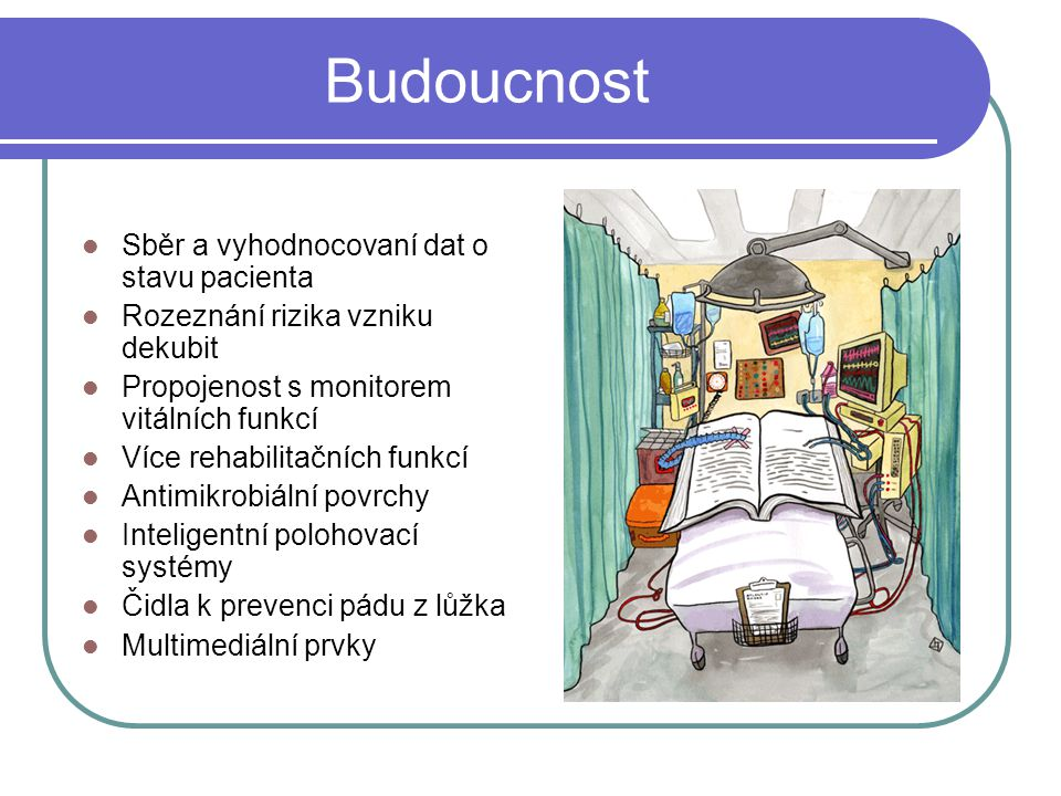 Budoucnost Sběr a vyhodnocovaní dat o stavu pacienta