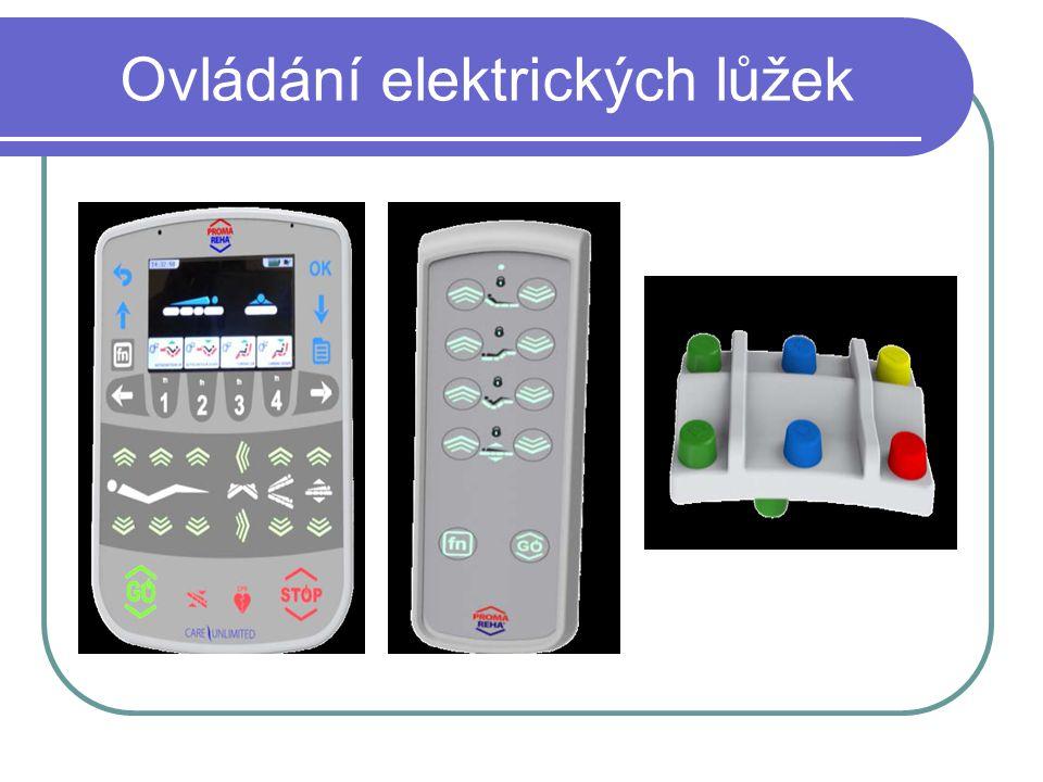 Ovládání elektrických lůžek