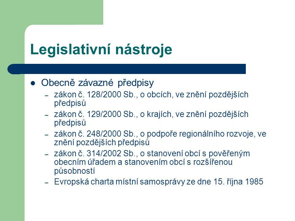 Legislativní nástroje