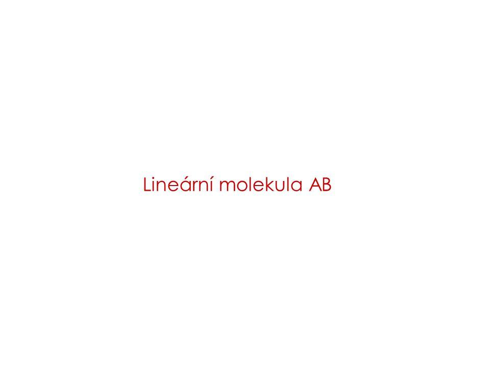 Lineární molekula AB