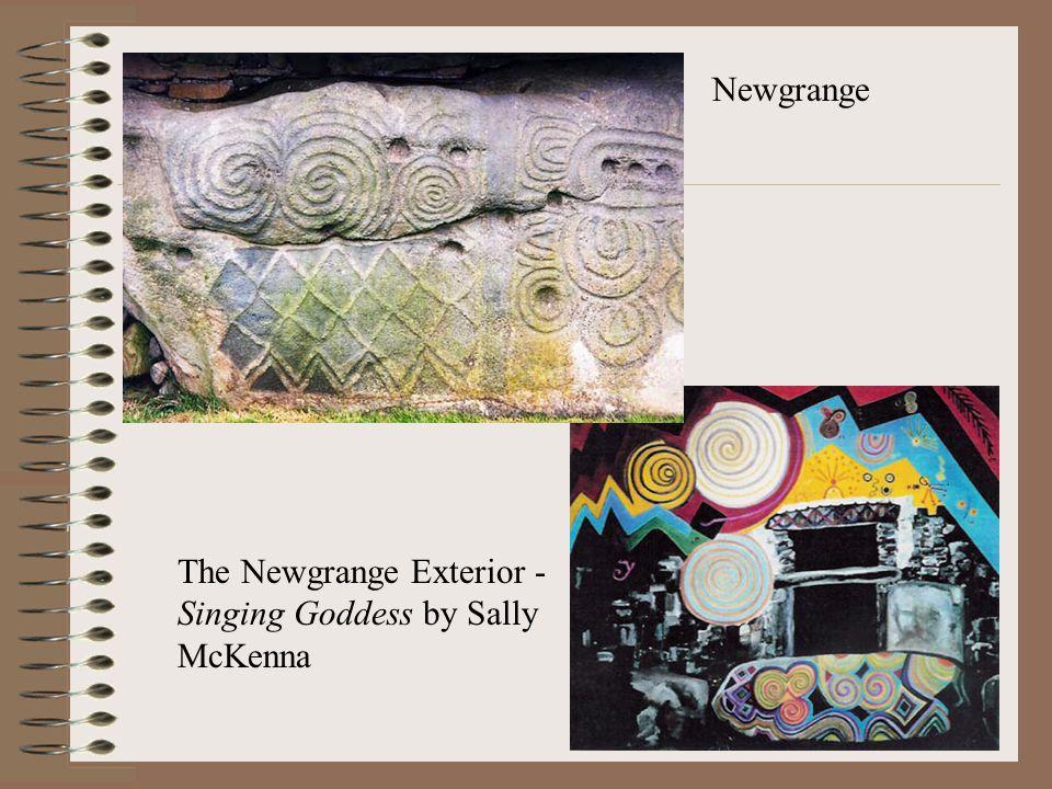 Newgrange The Newgrange Exterior - Singing Goddess by Sally McKenna