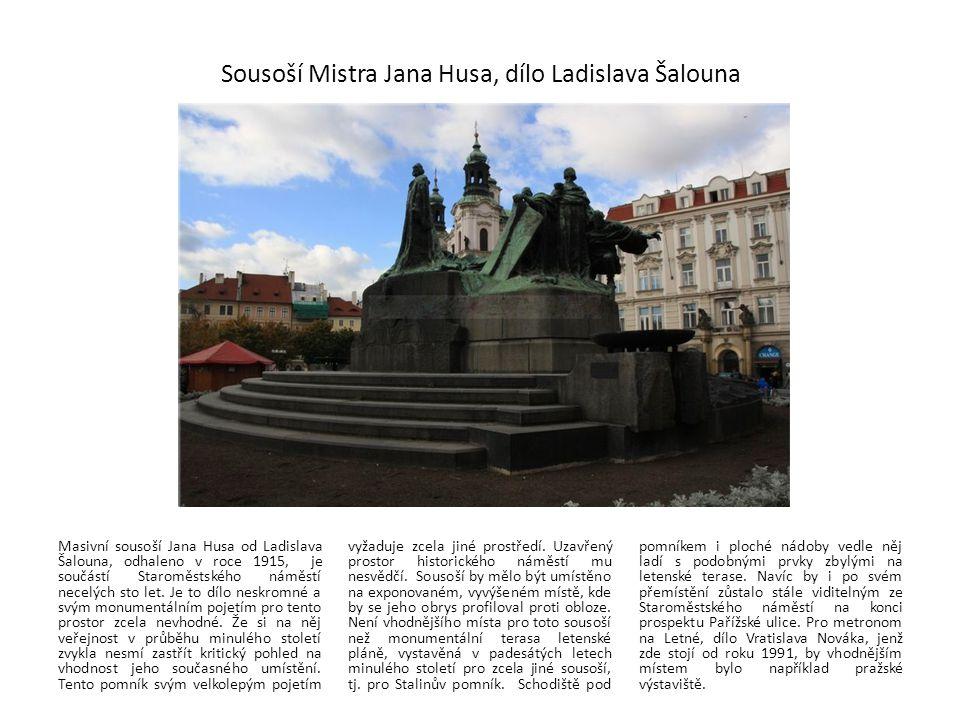 Sousoší Mistra Jana Husa, dílo Ladislava Šalouna