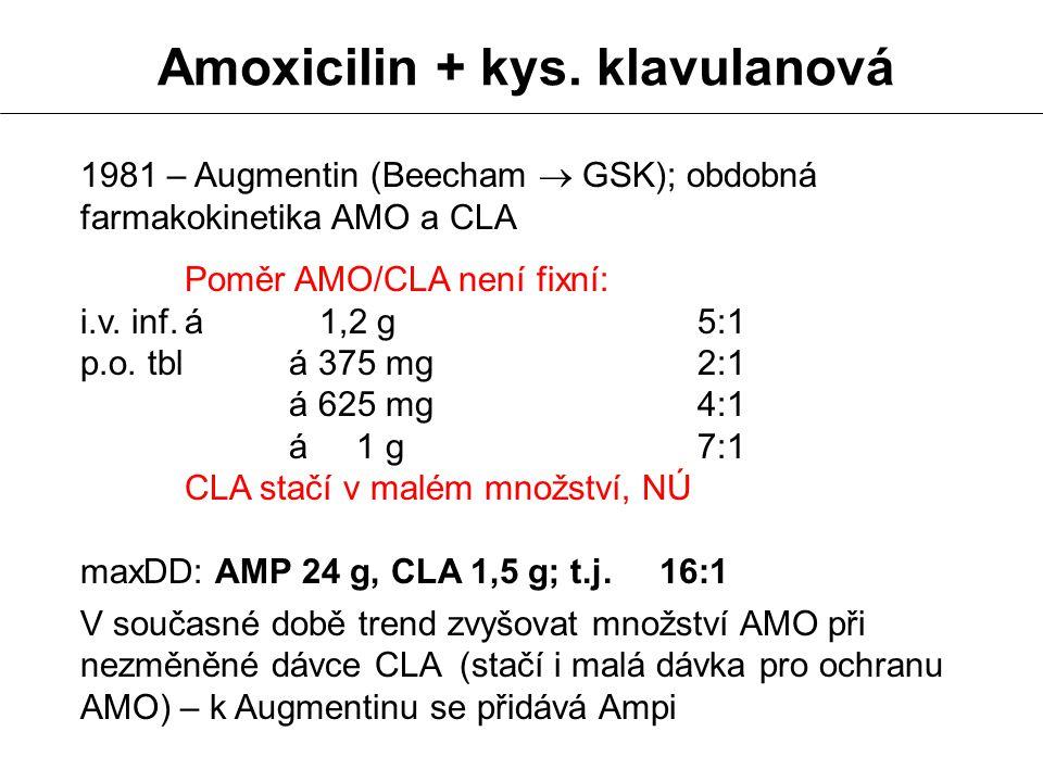 Amoxicilin + kys. klavulanová