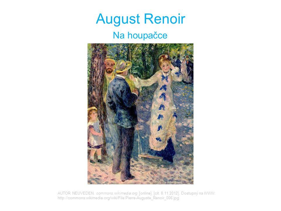 August Renoir Na houpačce