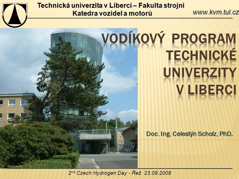Vodíkový prograM Technické univerzity v Liberci