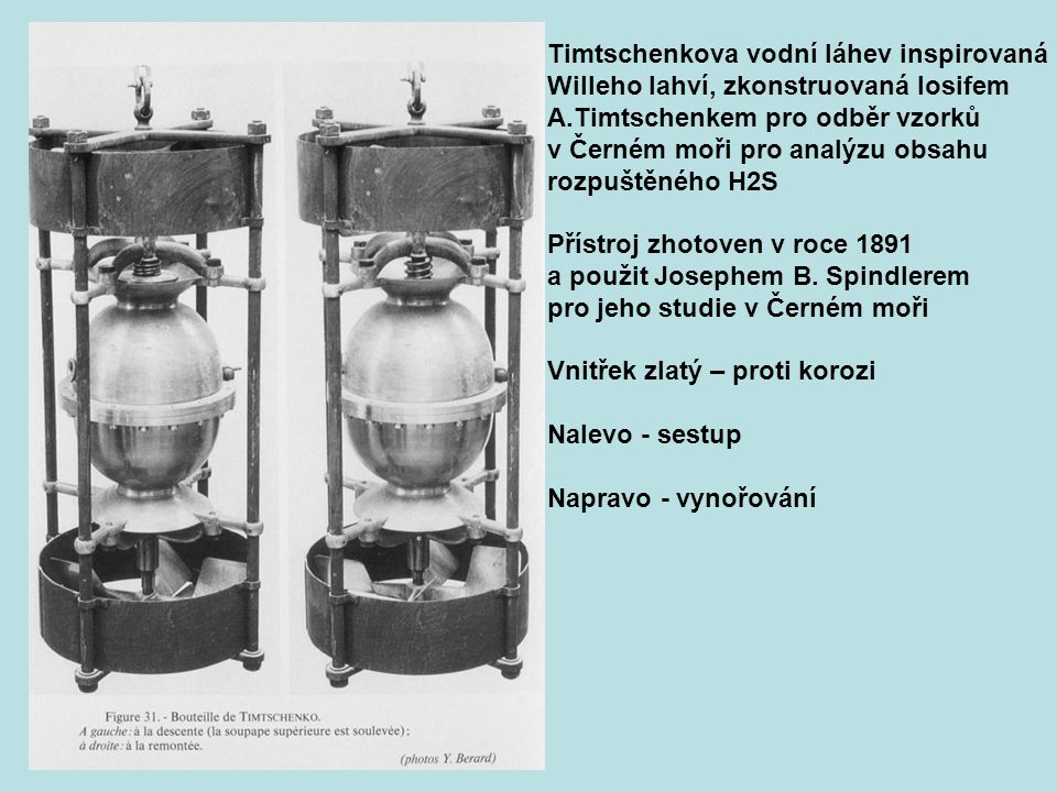Timtschenkova vodní láhev inspirovaná