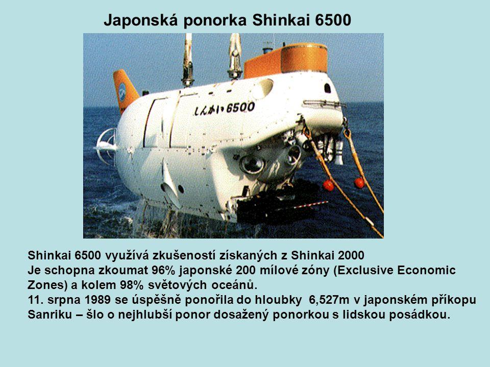 Japonská ponorka Shinkai 6500