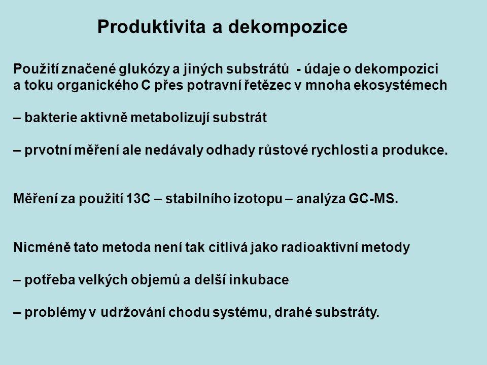 Produktivita a dekompozice