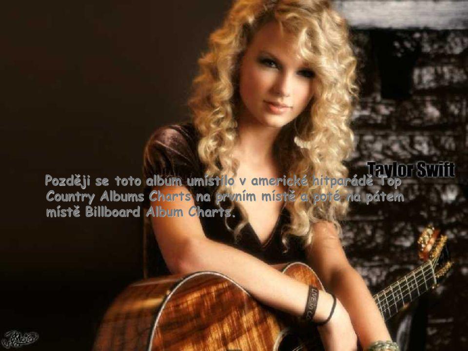 Později se toto album umístilo v americké hitparádě Top Country Albums Charts na prvním místě a poté na pátem místě Billboard Album Charts.
