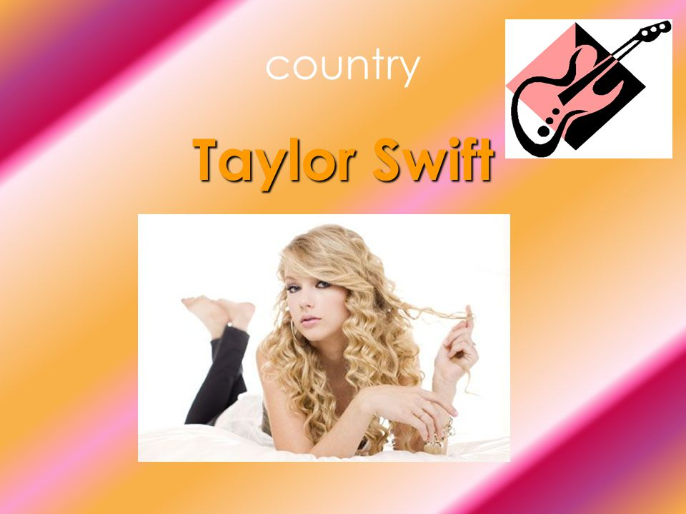 country Taylor Swift