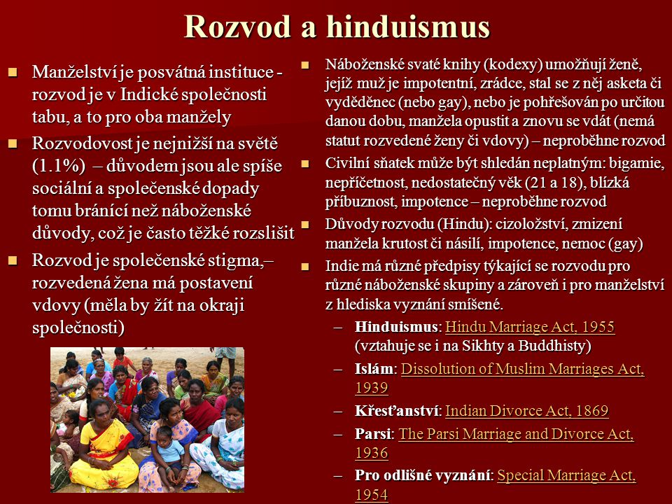 Rozvod a hinduismus