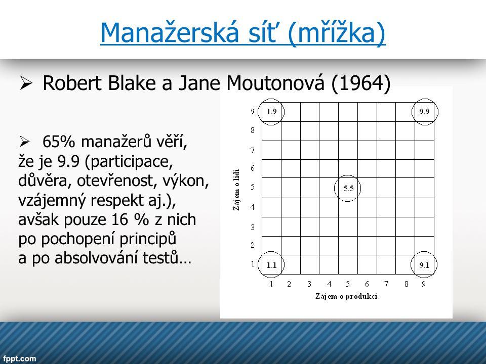 Manažerská síť (mřížka)