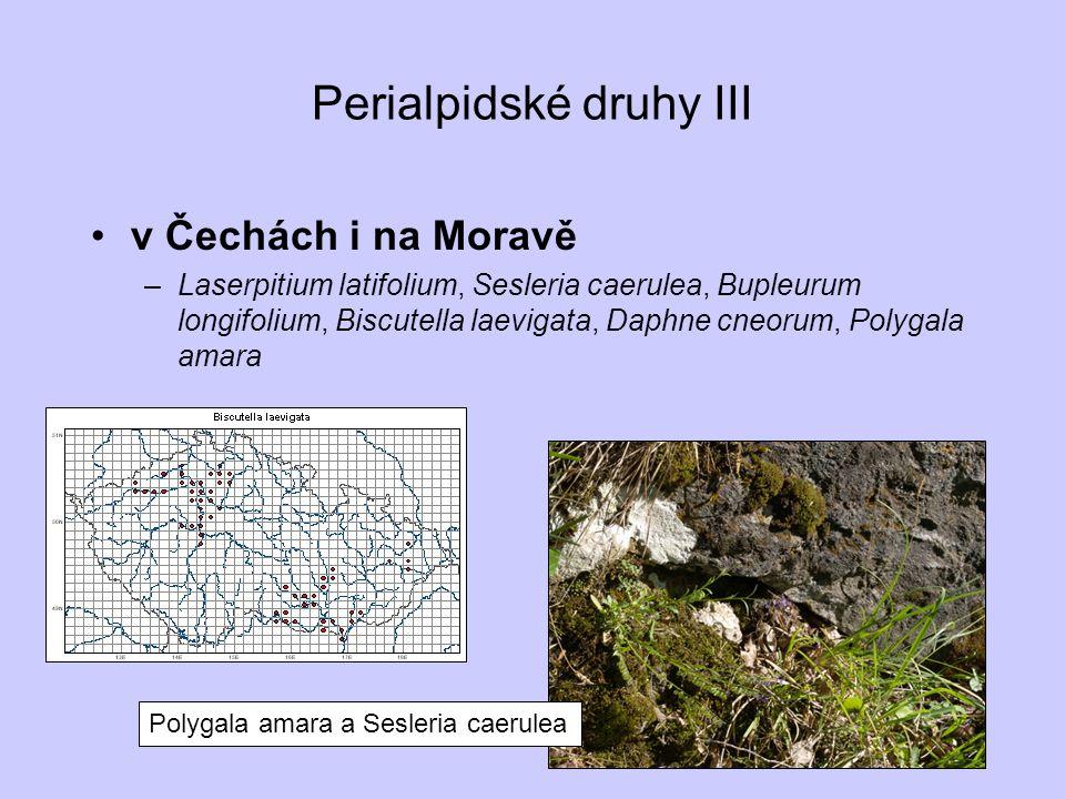 Perialpidské druhy III