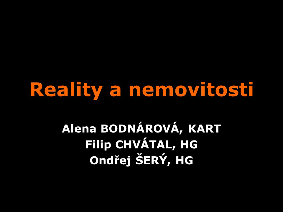 Alena BODNÁROVÁ, KART Filip CHVÁTAL, HG Ondřej ŠERÝ, HG