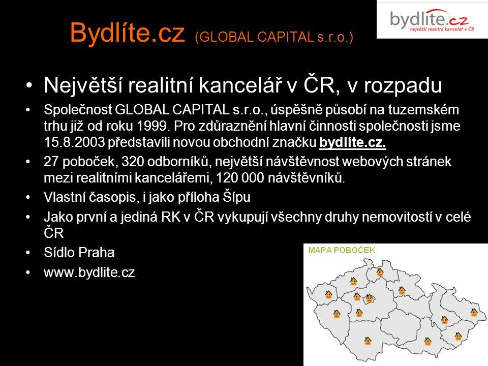 Bydlíte.cz (GLOBAL CAPITAL s.r.o.)
