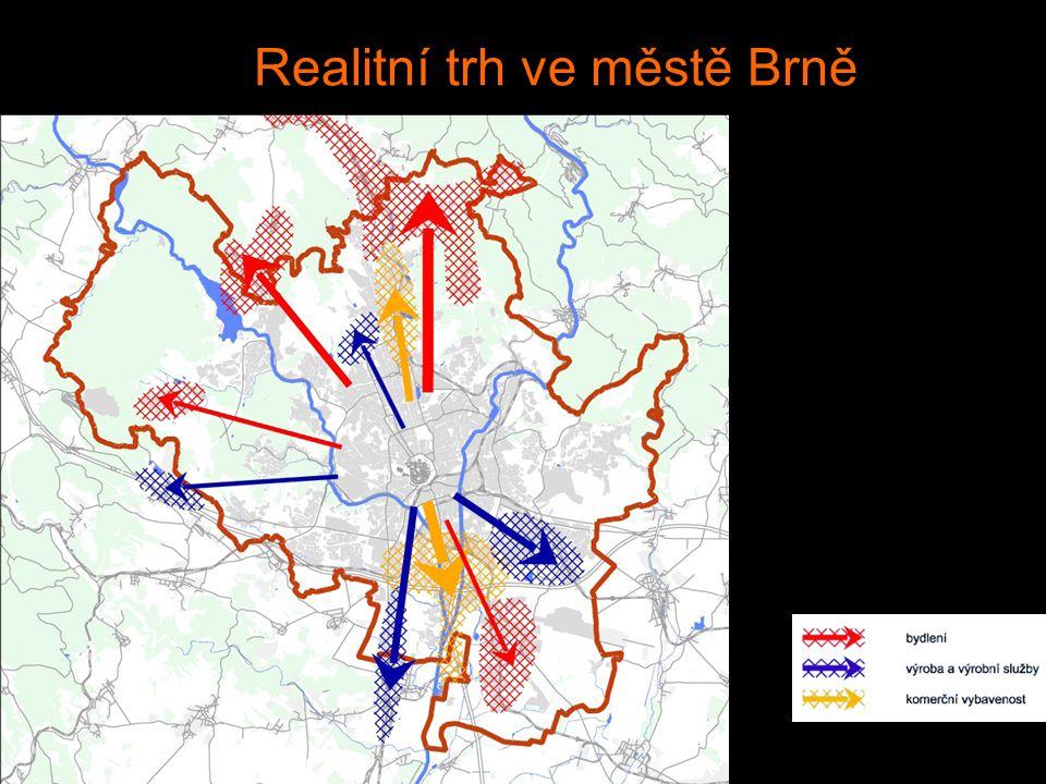 Realitní trh ve městě Brně