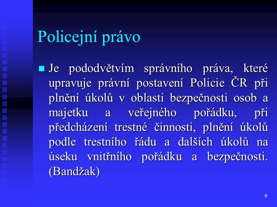 Policejní právo