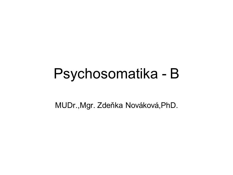 MUDr.,Mgr. Zdeňka Nováková,PhD.