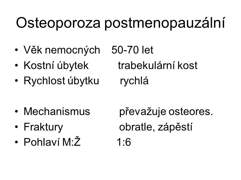 Osteoporoza postmenopauzální