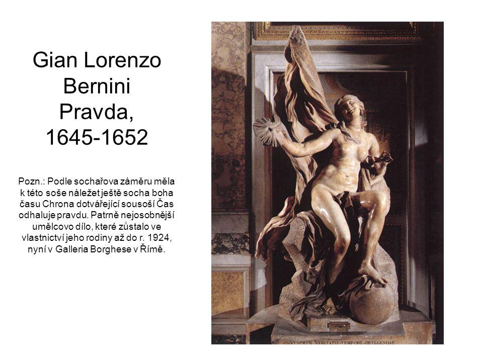 Gian Lorenzo Bernini Pravda, 1645-1652 Pozn
