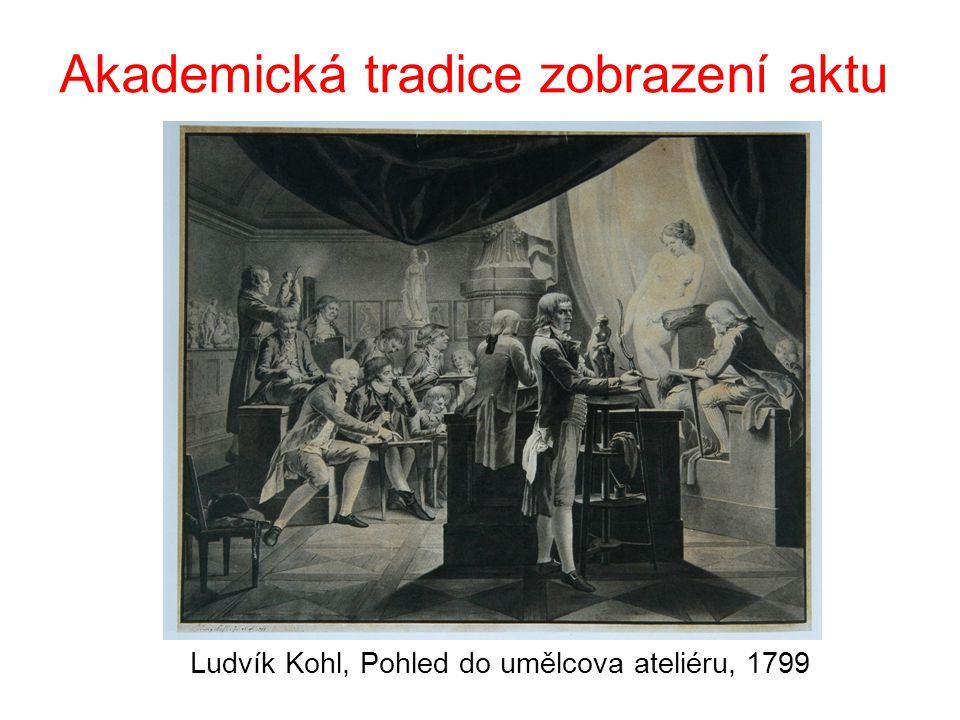 Akademická tradice zobrazení aktu