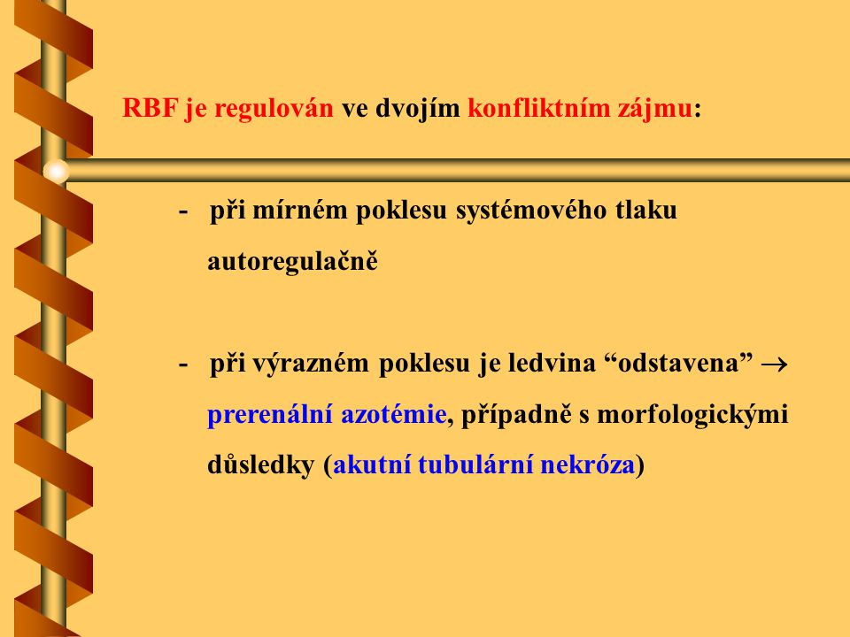 RBF je regulován ve dvojím konfliktním zájmu: