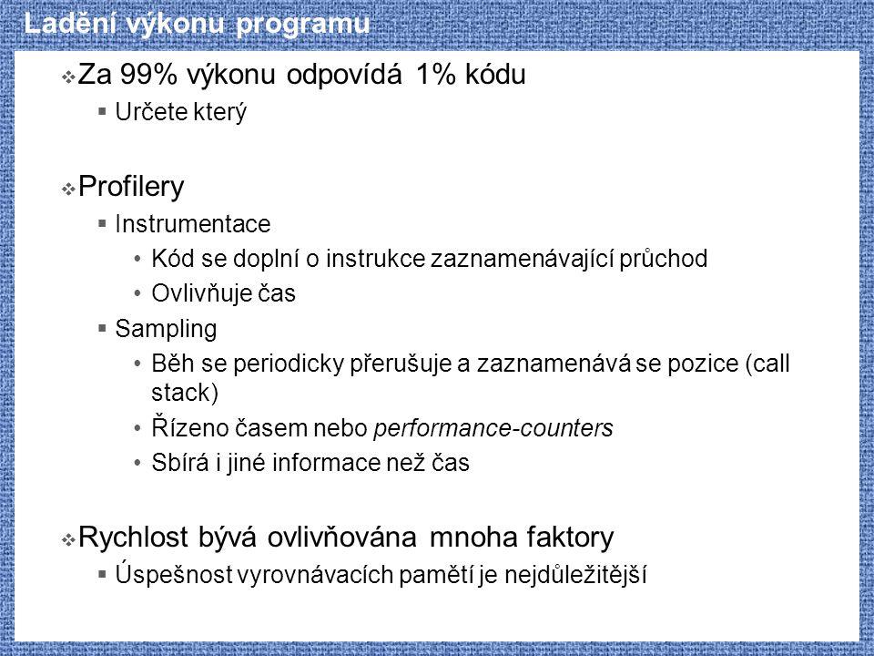 Ladění výkonu programu