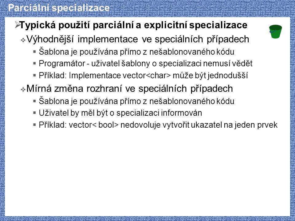 Parciální specializace