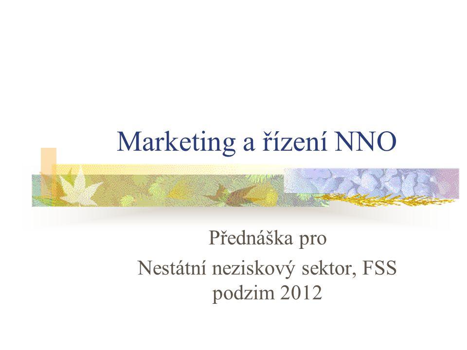 Přednáška pro Nestátní neziskový sektor, FSS podzim 2012