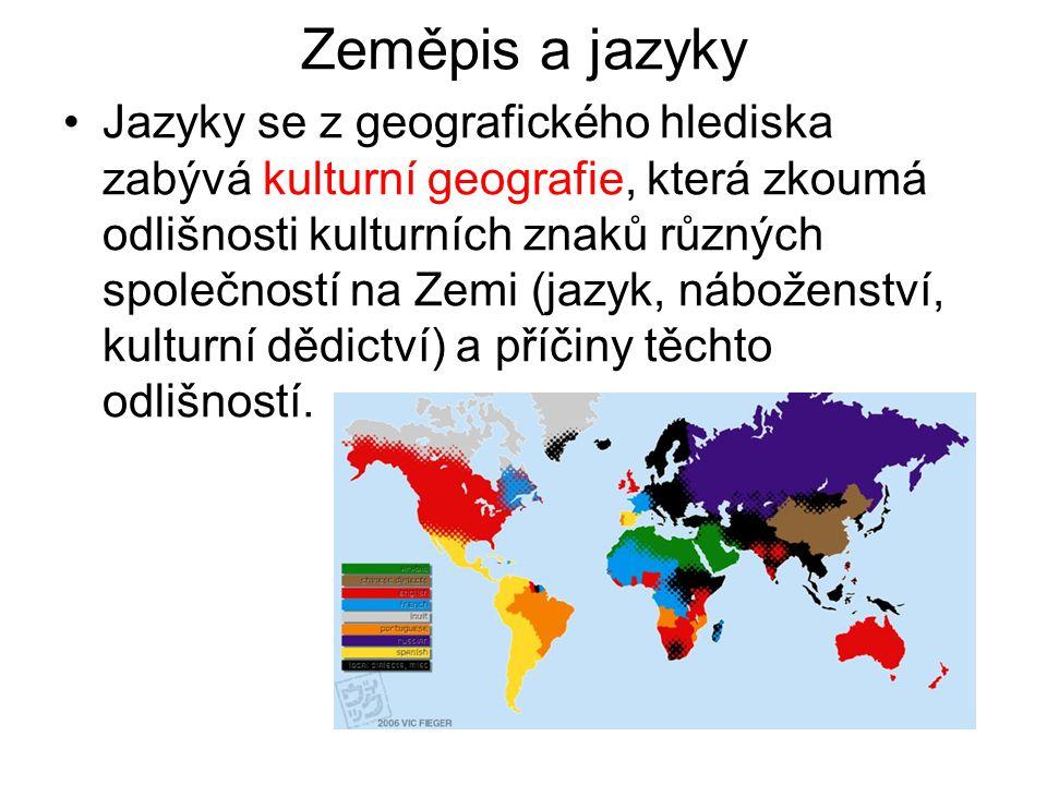 Zeměpis a jazyky