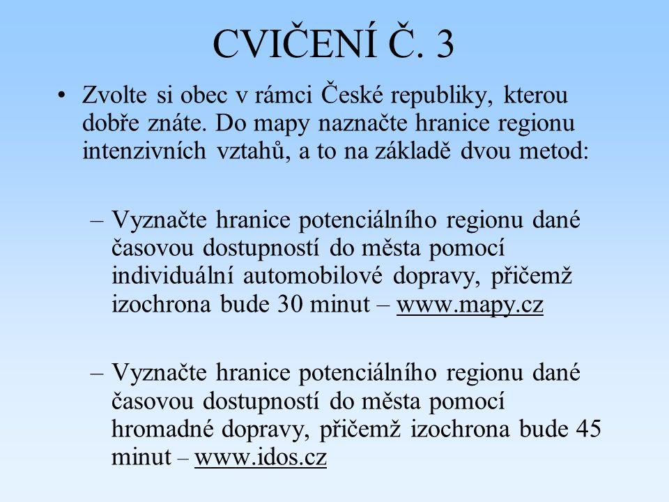 CVIČENÍ Č. 3