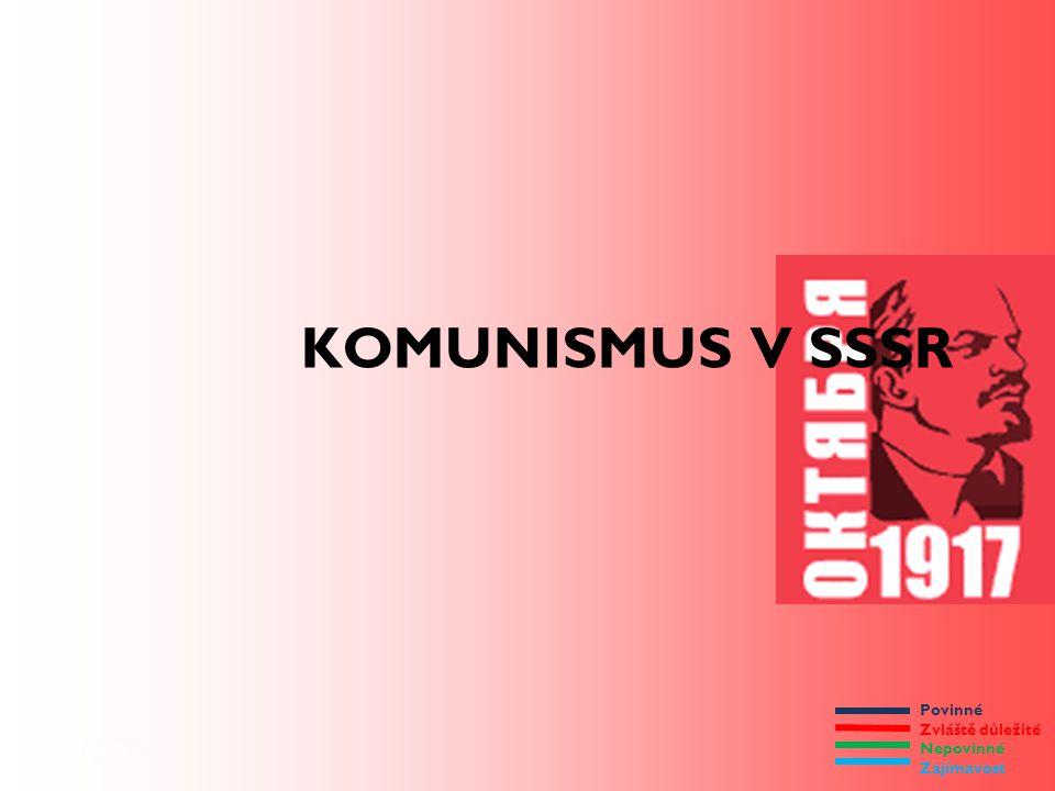 KOMUNISMUS V SSSR 9/18/14