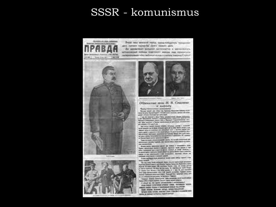 SSSR - komunismus