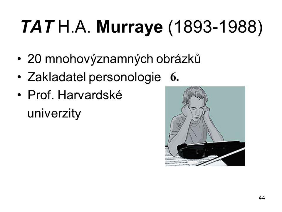 TAT H.A. Murraye (1893-1988) 20 mnohovýznamných obrázků