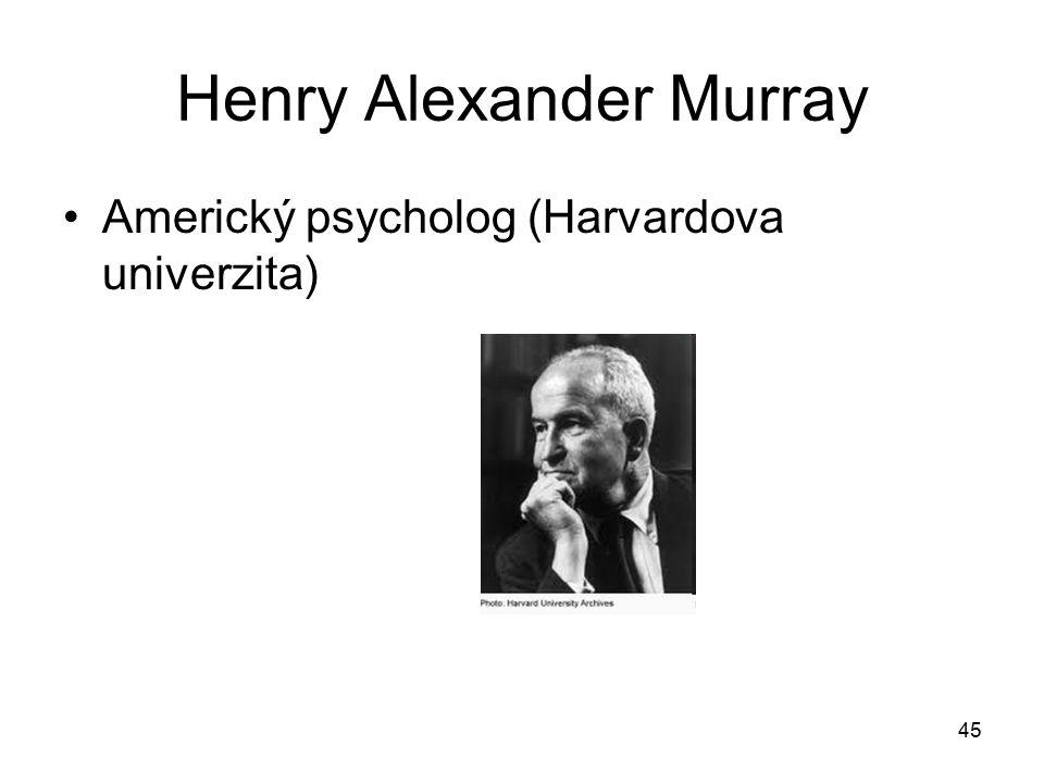 Henry Alexander Murray
