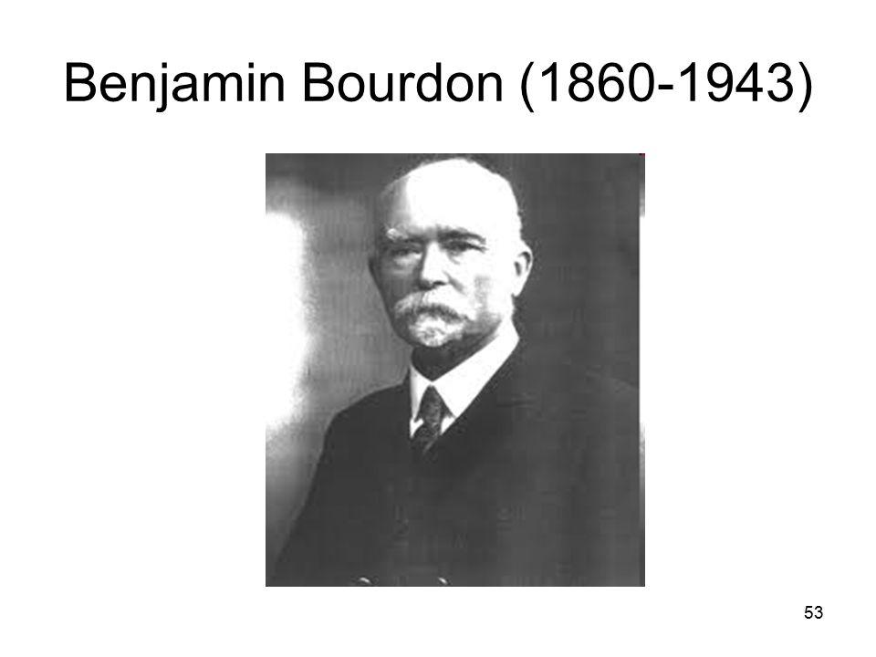 Benjamin Bourdon (1860-1943)