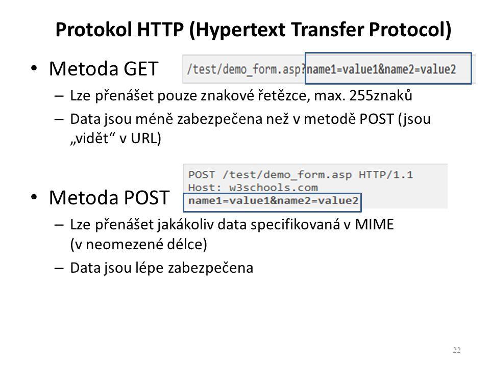 Protokol HTTP (Hypertext Transfer Protocol)